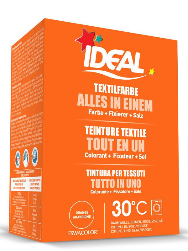 Ideal eswacolor teinture textile orange tout en 1 230g teinture textile tout en un - Teinture textile ideal ...
