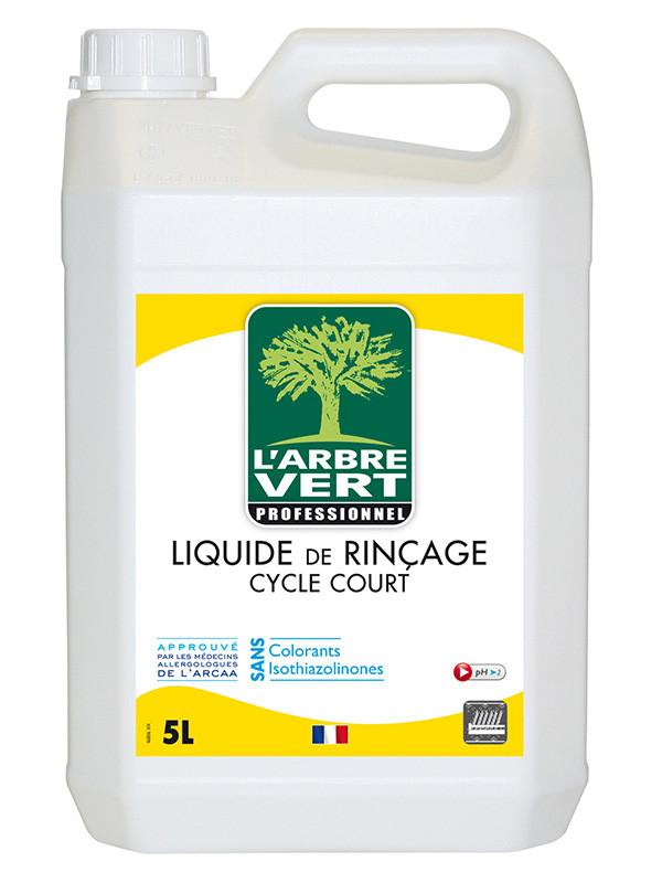 l 39 arbre vert liquide de rin age vaisselle cologique cycle court 5l professionnel produits. Black Bedroom Furniture Sets. Home Design Ideas