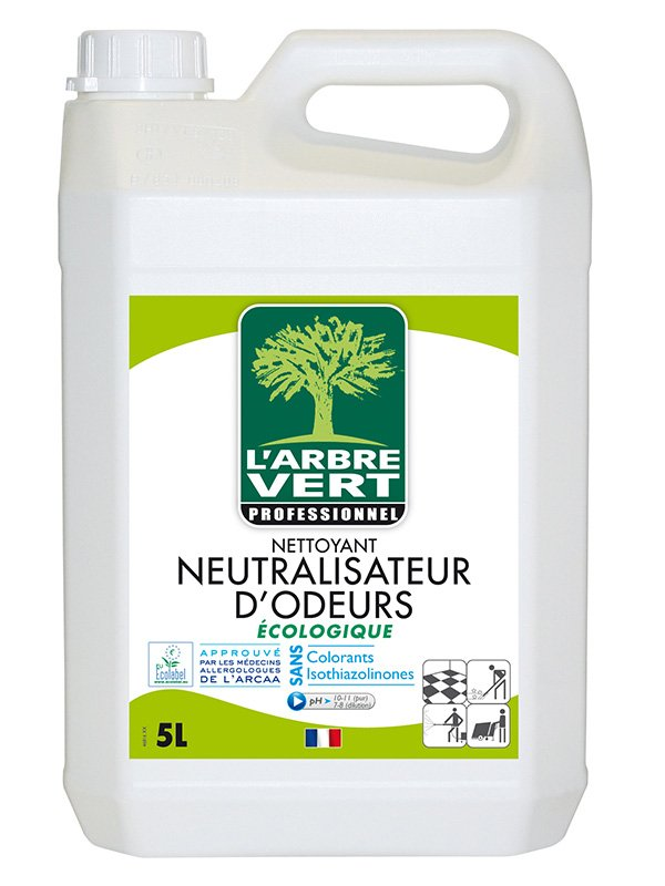 L 39 arbre vert nettoyant cologique neutralisateur d for Nettoyant pvc professionnel