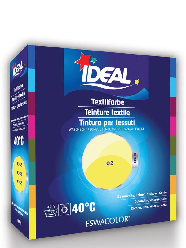Ideal eswacolor teinture textile citron pour coton lin viscose et soie - Teinture pour tissu coton ...