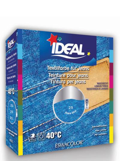 Ideal eswacolor teinture textile pour jeans bleu maxi 25 teinture pour coton lin et - Teinture textile ideal ...