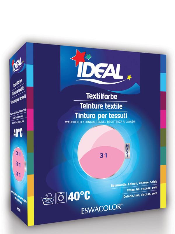 ideal eswacolor teinture textile rose pour coton lin. Black Bedroom Furniture Sets. Home Design Ideas