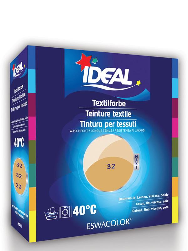 ideal eswacolor textilfarbe beige f r baumwolle leinen viskose seide maxi 32. Black Bedroom Furniture Sets. Home Design Ideas