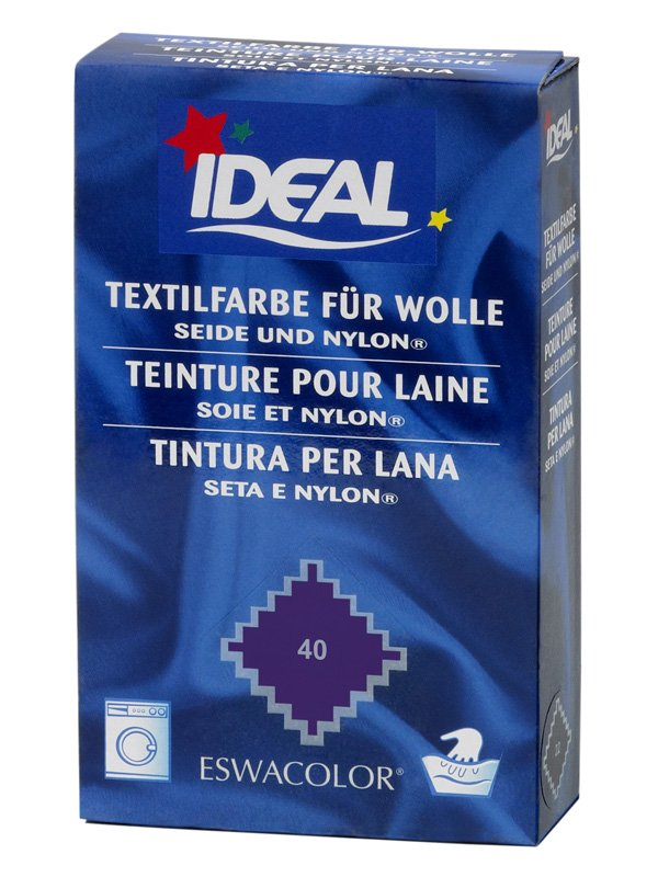 ideal eswacolor teinture textile violet pour laine soie et nylon 40 teinture textile pour. Black Bedroom Furniture Sets. Home Design Ideas
