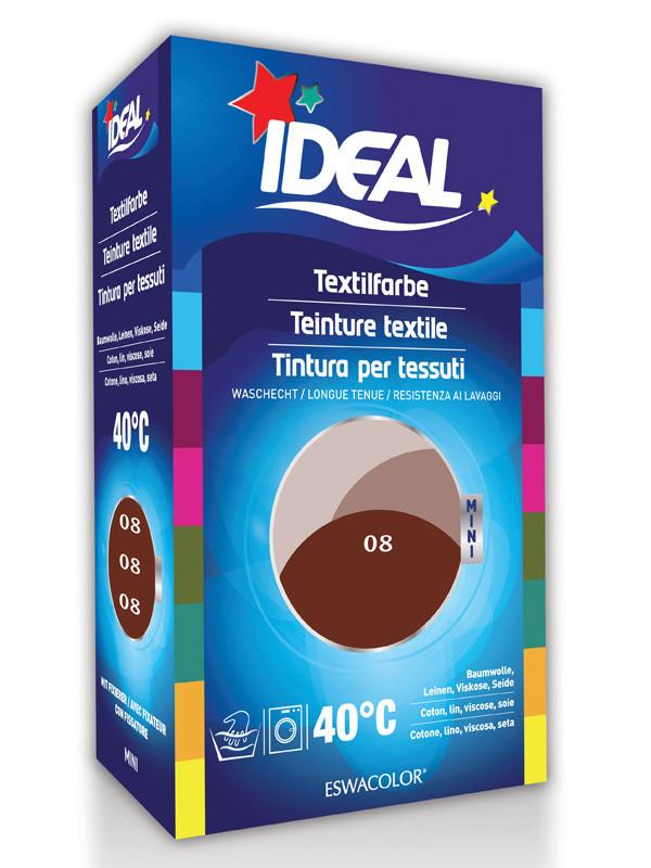 Ideal eswacolor teinture textile brun rouge pour coton lin viscose soi - Ideal teinture textile ...