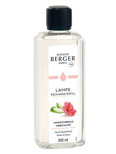 Recharge Lampe Amour d'Hibiscus 500ml | MAISON BERGER