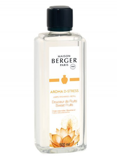 Recharge Lampe Aroma D-Stress 500ml | MAISON BERGER