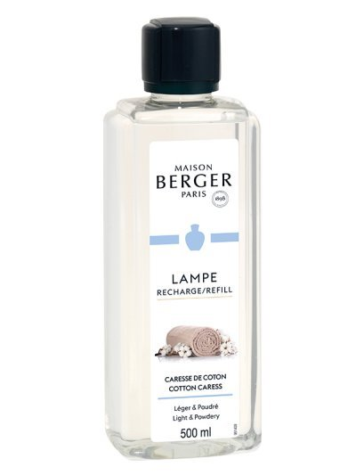 Recharge Lampe Caresse de Coton 500ml | MAISON BERGER