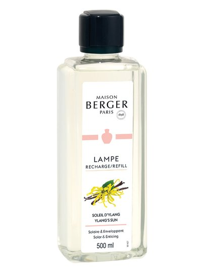 Recharge Lampe Soleil d'Ylang 500ml | MAISON BERGER