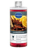 Pot-Pourri Cannelle d'Oranger 500ml | AMBIANCES BERGER