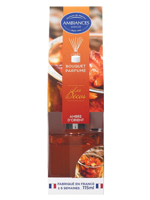 Désodorisant ambre d/'orient AMBIANCES BERGER 115 ml