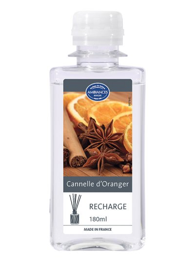 Recharge Brin Cannelle d'Oranger 180 ml | AMBIANCES BERGER