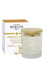 Bougie parfumée Aroma D-Stress - Douceur de Fruits | MAISON BERGER