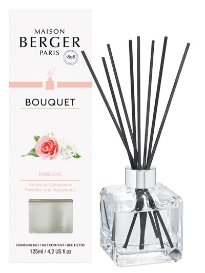 MAISON BERGER Bouquet parfumé Cube Paris Chic 125ml