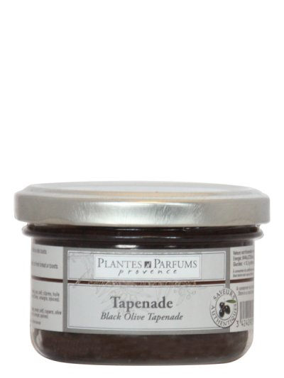 Tapenade Olives Noires 90g PLANTES & PARFUMS