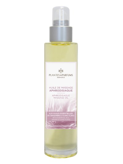Huile de massage 100ml Aphrodisiaque | PLANTES & PARFUMS