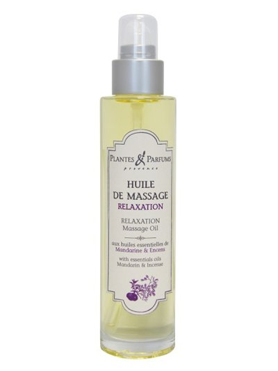 Huile de massage 100ml Relaxation | PLANTES & PARFUMS