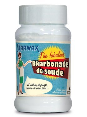 Starwax bicarbonate de soude 500g starwax the for Detartrage bicarbonate de soude