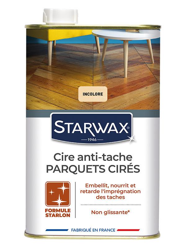 Starwax cire anti tache starlon incolore 1l starwax imbiex sa - Enlever tache d eau sur meuble cire ...