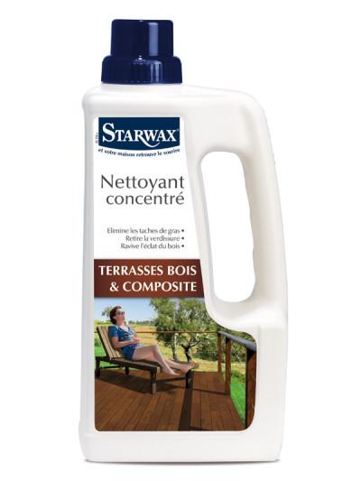 starwax nettoyant concentr terrasse bois et bois composite 1l starwax imbiex sa. Black Bedroom Furniture Sets. Home Design Ideas