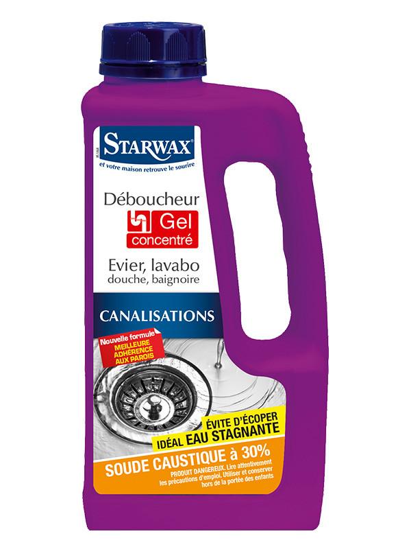 STARWAX   Déboucheur évier, lavabo douche, baignoire 1L   Starwax ... 57adcb77b5d3