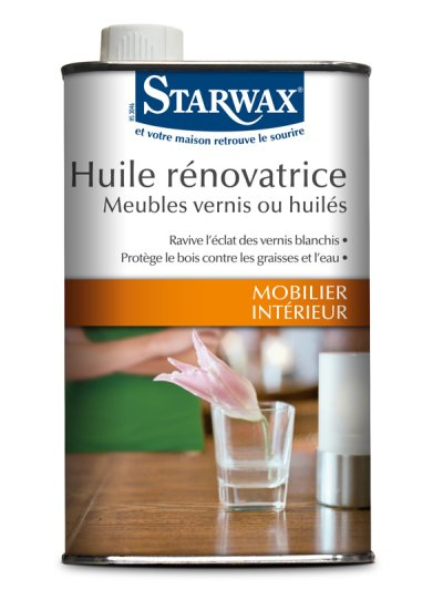 starwax huile r novatrice meubles vernis ou huil s 500ml starwax imbiex sa. Black Bedroom Furniture Sets. Home Design Ideas